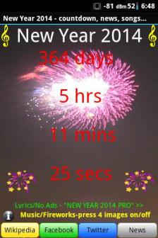 NEW YEAR 2014 Countdown+Music+