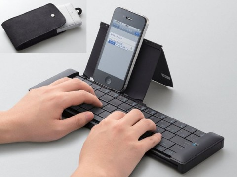 Bluetooth keyboard with your iOS device